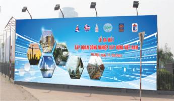 biển quảng cáo bạt hitle  giá 180.000VND/m2